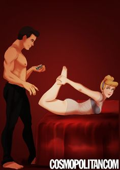 What is Prince Charming planning on doing with those balls? I think we're better off not knowing . . .