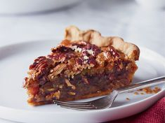 Pecan Pie with Candied Ginger and Rum   For a wonderful contrast to the sweetness of her pecan pie, master baker Alice Medrich adds minced candied ginger and a splash of rum to the filling.