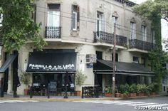 Eating at La Cabrera, Palermo Buenos Aires, Argentina