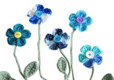 Crochet Flower Bookmark #craftyrebels