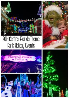 The Christmas season is here and things are getting busy at the Central Florida theme parks.