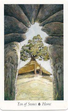 Wildwood Tarot: 10 of Stones (Pentacles)