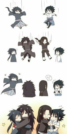 uchiha brothers are everything