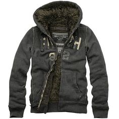 Abercrombie and Fitch Fur Hoodie