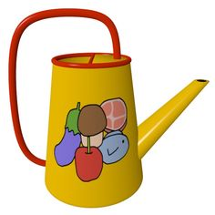 Healthy Food Watering Can