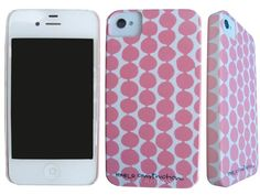 I like that you cant see the case on the front of the phone...rose beads barely there iphone 4/4S case