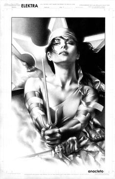 Elektra by Jay Anacleto