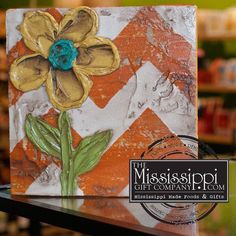 FACEBOOK FRIDAY! Win this beautiful piece of art to spruce up your home at www.facebook.com/TheMississippiGiftCompany