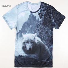 Summer Hot Sale Cool Tiger Printed T Shirt Fashion Animal Creative T-Shirt Novelty Design Wolf/Bear/Lion Men T Shirts 3d T Shirts, Printed Shirts, Animal Faces, Well Dressed Men, Fashion Fabric, New Fashion, Shirt Style, Shirt Designs, Creative