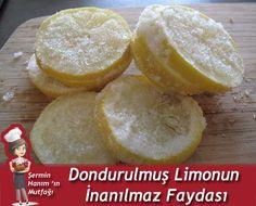 Ziyan etmeden limonun tamamını nasıl kullanırsınız? Basit… Limonu (yıkayıp) buz dolabınızın buzluk bölümüne koyuyorsunuz. Donduktan sonra mutfak rendesini
