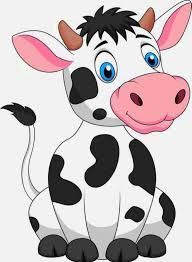 Image result for cow cartoon