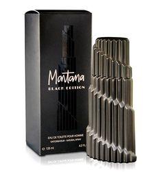 2011 Montana Black Edition di Montana è una fragranza del gruppo Orientale Legnoso da uomo. Le note di testa sono Cannella, Mandarino, Lavanda, Arancia e Pepe; le note di cuore sono Gelsomino, Rosa, Salvia e Pino; le note di base sono Cuoio, Incenso, Cedro e Sandalo