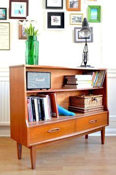 Vintage Jentique teak bookcase / display cabinet. Delivery.   London   Gumtree