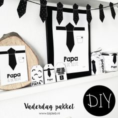 DIY Vaderdag pakket.. Free printables en Free downloads Cool Gifts, Diy Gifts, Wrapping Ideas, Gift Wrapping, Printable Frames, Daddy Day, Idee Diy, Inspirational Gifts, Diy Party