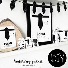 DIY Vaderdag pakket.. Free printables en Free downloads