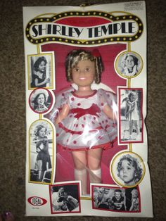 ...when mine looked like this. Shirley Temple Doll Ideal 1973 New in Box 16 Inch.