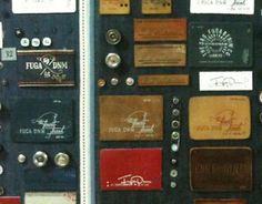 Denim branding accessories
