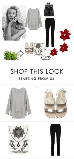 """""""Yoins"""" by almaa-26 ❤ liked on Polyvore featuring Yves Saint Laurent, yoins and yoinscollection"""