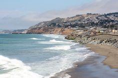 Sharp Park Beach Pacifica California