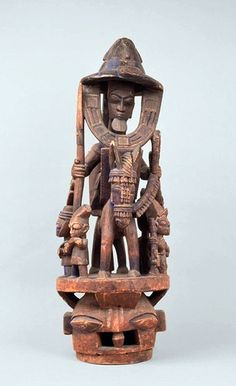 Africa   Epa Masks from the Yoruba people of Nigeria   Wood and pigment.