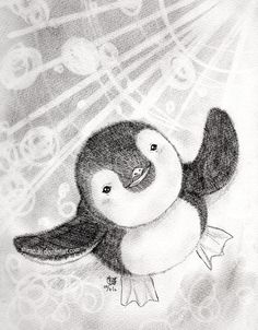 Pengu-chan by *Shirazuki on deviantART #penguin #animallovers #animals