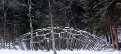 Arte Sella - when the exhibit is over, the pieces of art get back to nature and follow their natural lifecycle