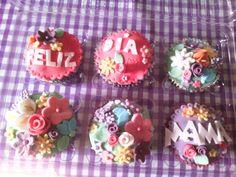 Cupcakes. Día de las madres