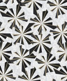 the Kenzo pattern from the Atelier Collection by Mosaique Surface Floor Patterns, Wall Patterns, Textures Patterns, Print Patterns, Floor Design, Tile Design, Pattern Design, Art Deco, Art Nouveau