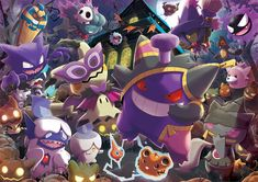 Pokéshopper news brings you all the latest Pokémon news! Ghost Type Pokemon, Pokemon Fan Art, Cool Pokemon, Pokemon Go, Fanart Pokemon, Pokemon Halloween, Anime Halloween, Game Boy, Consoles Games