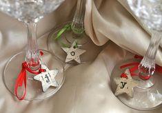 wine glass charms...