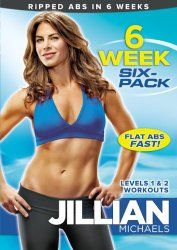 Jillian Michaels: 6 Week Six-Pack - Get ripped, flat abs in 6 weeks with America's toughest trainer, Jillian Michaels.