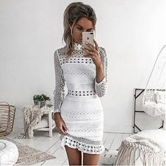 Awesome Rosa Petunie summer Dress 2017 Women Casual Beach Short Dress White Mini Lace Patchwork Dress Sexy Party Dresses Vestidos - Buy it Now! Short Beach Dresses, Sexy Dresses, Lace Dresses, Dress Lace, Fashion Dresses, Elegant Dresses, Fashion Clothes, Midi Dresses, Short Casual Dresses