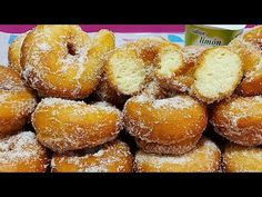 😋 ROSCOS DE YOGUR ✔PRUEBA CON ÉSTA RECETA ✔LA MÁS FÁCIL👌// BEATRIZ COCINA - YouTube Crepes, Doughnut, Desserts, Youtube, Instagram, Yogurt Cake, Dessert Recipes, Pound Cake, Breakfast