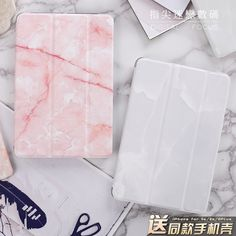 """Marble Grain Flip Cover For iPad Pro 9.7"""" Air Air2 Mini 1 2 3 4 Tablet Case Protective Shell For New iPad 9.7 2017 tablet"""