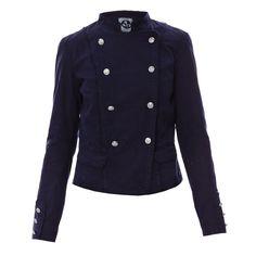 58679cdbfb6e0 Veste bleu marine Bonobo Jeans, Veste Femme Brandalley