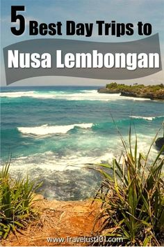 Want to head off to the paradise island of Nusa Lembongan but short on time? Worry not! Make the most of your Bali vacation on your next trip to Bali Indonesia with these 5 awesome day trips to Lembongan island! Bali Travel Guide, Solo Travel Tips, Travel Things, Travel Guides, Travel Advice, Travel Abroad, Asia Travel, Lembongan Island, Beach Trip