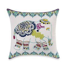 Anthology™ Willa Elephant Square Throw Pillow