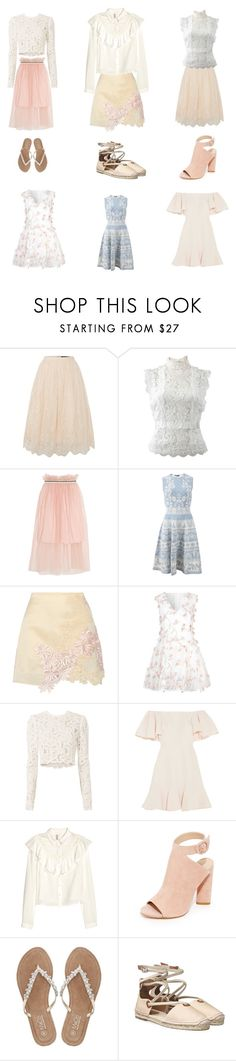 """""""Spring"""" by emmers3113 ❤ liked on Polyvore featuring Little Mistress, Oscar de la Renta, Mother of Pearl, Alexander McQueen, 3.1 Phillip Lim, True Decadence, A.L.C., Valentino, Kendall + Kylie and M&Co"""
