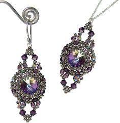 Antique Earrings & Pendant | Bead-Patterns