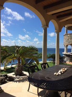 St John luxury rental villa, Kaleidoscope.