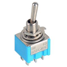 5pcs/Lot Blue 6-Pin DPDT ON-ON Mini 6A125VAC Miniature Toggle Switches VE068 P #electronicsprojects #electronicsdiy #electronicsgadgets #electronicsdisplay #electronicscircuit #electronicsengineering #electronicsdesign #electronicsorganization #electronicsworkbench #electronicsfor men #electronicshacks #electronicaelectronics #electronicsworkshop #appleelectronics #coolelectronics