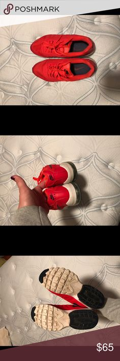 Nike Air Max Invigor Like new Nike tennis shoes. Bright red, worn a few times, in excellent condition Nike Shoes Sneakers