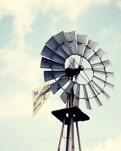 windmill photography landscape photograph farm by eireanneilis, $25.00