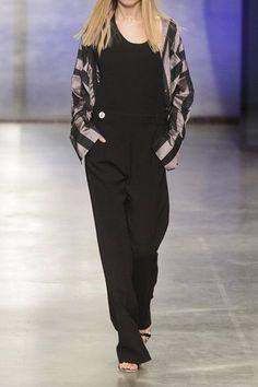 Topshop Unique - Saunderson Wool-canvas Halterneck Jumpsuit - Black - UK8