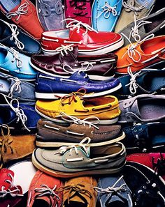 you can never have too many boat shoes