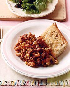 Macaroni with Beef - Martha Stewart Recipes