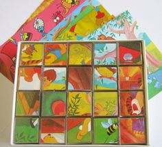winnie the pooh puzzle blocks