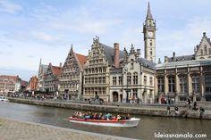 Roteiro de um dia para conhecer o melhor de Gante (Ghent) na Bélgica passando pelo Castelo dos Condes, Catedral & Belfry, canais de Gante e muito mais!