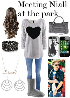 """""""Meeting Niall"""" by hazzastyles19 ❤ liked on Polyvore"""
