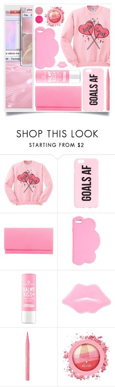 """Sucky Love"" by racanoki ❤ liked on Polyvore featuring Smythson, STELLA McCARTNEY, Too Faced Cosmetics, Wander Beauty and RaCaNoKi"